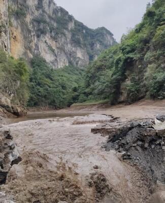 金沙县里匡岩水电站爆破拆除监理工程