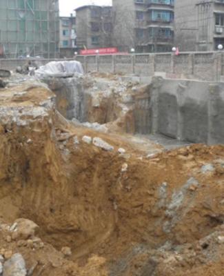 贵阳承平精品仓储服务基地1、2、3楼桩基开挖工程
